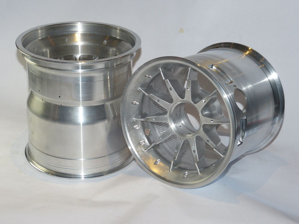 Precision CNC Machined Motor Sport Wheels