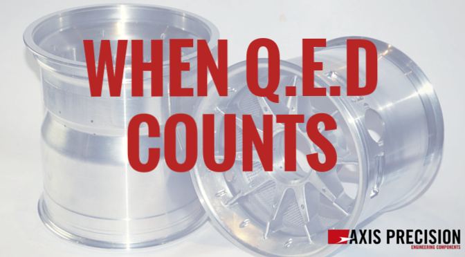 When QED counts
